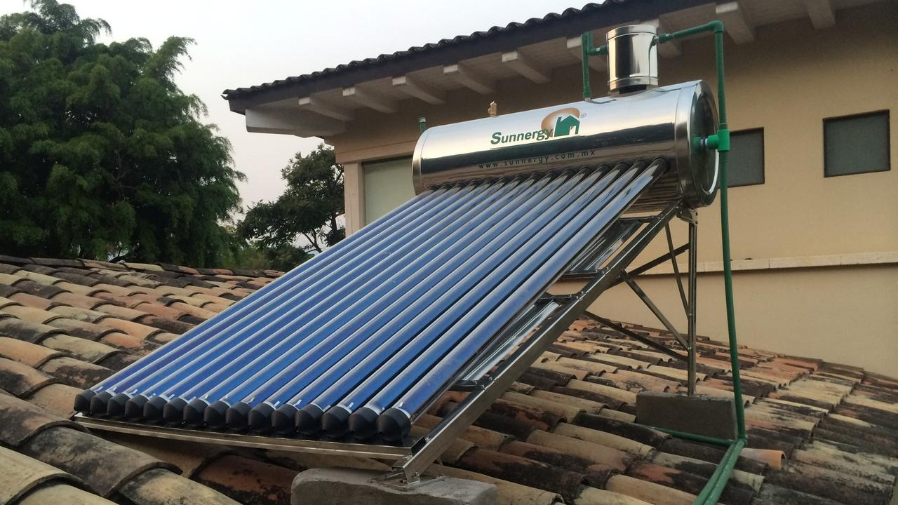 katus.eu eco friendly house solar thermal
