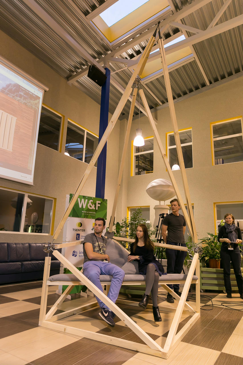 katus.eu wood hackathon awards best engineering innovation dynamic structures garage48